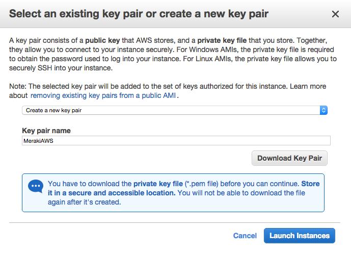 Meraki to AWS VPN   AWS Primer – Welcome to My Lab